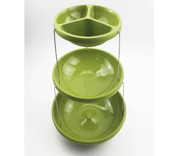 Fozzils Twistfold Party Bowls (3 Tiers)