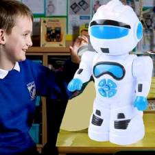 Battery operated robot toy for kids