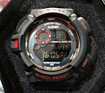 D-ZINER Gents Wristwatch
