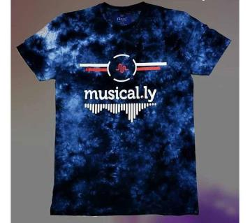 Musical.ly মেনজ কটন টি-শার্ট