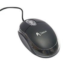 A.Tech USB অপটিক্যাল মাউস - ব্ল্যাক