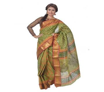 Coton Saree Block Boutique 13 Hat With Blouse