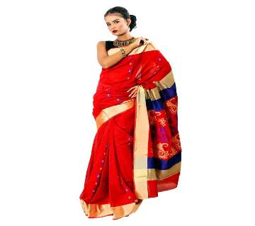 Tosor Silk Saree With Butics 13 Hat With Blouse
