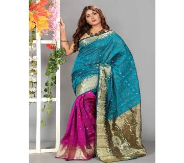 Silk Saree Full Body Works 13 Haat With Blouse