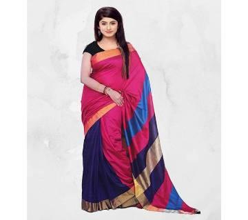Multicolor Silk Sharee (Blouse Piece Included)