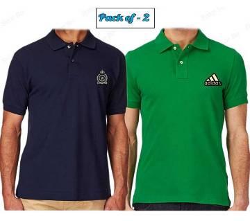 Mens Casual Polo-Shirt Combo Pack 2 pcs