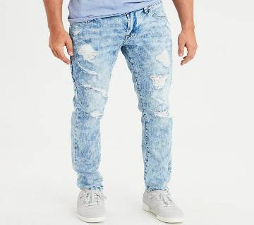 Mens Denim Casual Jeans Pant