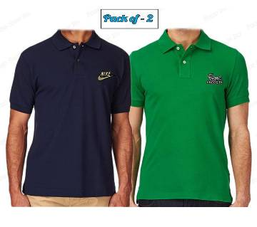 Pack of 2 Casual Polo-Shirt