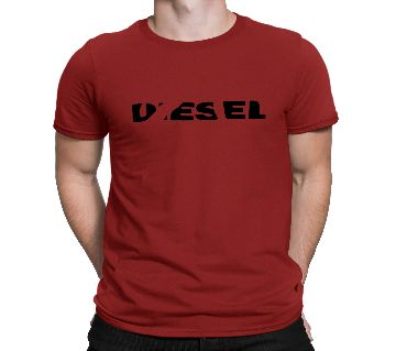 Mens Diesel Cotton Round Neck  t-shirt