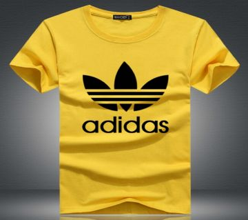 Adidas জেন্টস হাফ স্লিভ কটন টি-শার্ট
