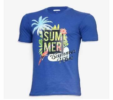Sumer Vibes Cotton half sleeve t-shirt for men