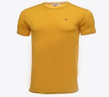 Half sleeve Cotton Polo shirt for men ( BR-TS-001 Deep Yellow )