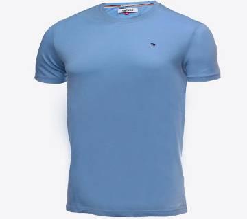 Half sleeve Cotton Polo shirt for men( BR-TS-001 Sky Blue )