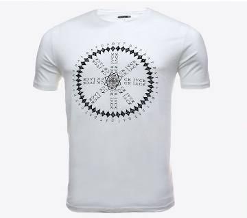 Half sleeve Cotton Polo shirt for men ( HZ-TS-2017 White )