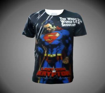 LEO Super Hero Character Short Sleeve T-Shirt (For Kids/Boys)
