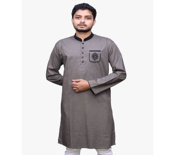 Traditional Panjabi 016 Semi long cotton punjabi