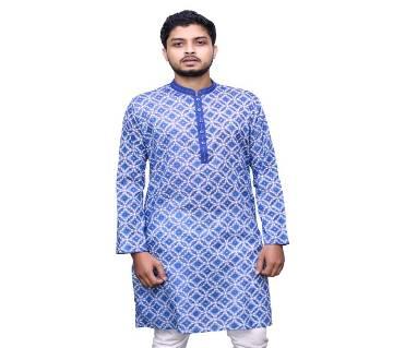 Traditional Panjabi 017 Semi long cotton punjabi