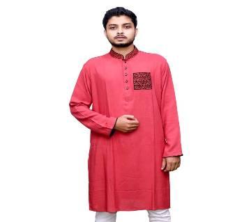 Traditional Panjabi 019 Semi long cotton punjabi