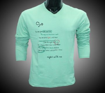 LEO NIGHT WITH ME LS T-SHIRT