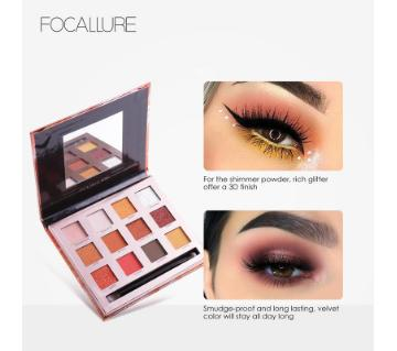 Focallure Burning Eyeshadow Palette (China)