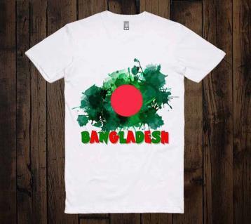 Bangladesh Design হাফ স্লিভ টি-শার্ট