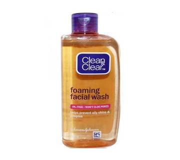Clean & Clear Foaming ফেসওয়াস For Oily Skin 150ml USA