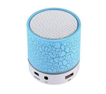 A9 Mini Portable Wireless Bluetooth Speaker - Blue and White