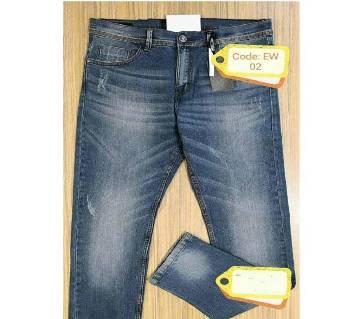 gents semi narrow fit jeans pant