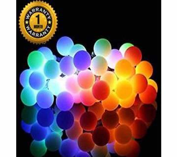 Candy Ball 10m String Fairy Lights - Rainbow