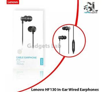 Lenovo HF130 Wired in Ear Earphone with Deep Base