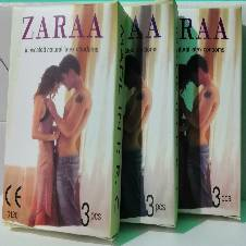 ZARAA Plain Condom (Belly) - 9 Pcs