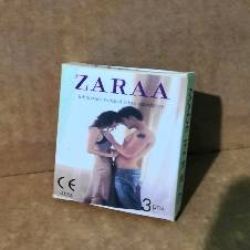 ZARAA প্লেইন কনডম - 3 Pieces