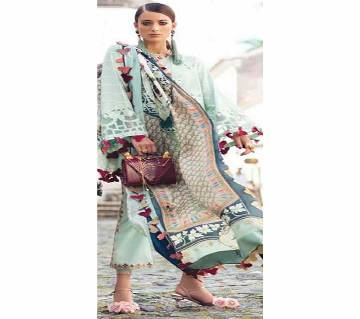Unstitched Embroidered LAWN Three Piece
