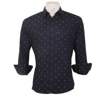 Gents Slim Fit Full Sleeve Printed Cotton Casual Shirt