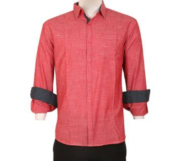 Rami Cotton Full Sleeve Slim Fit Casual Shirt
