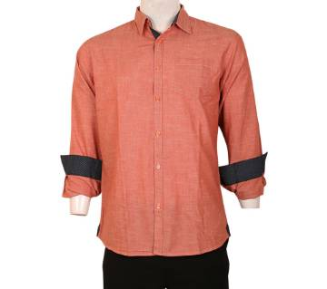 Rami Cotton Full Sleeve Casual Slim Fit Shirt