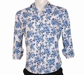 Full Sleeve Slim Fit Casual Cotton Shirt