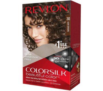Revlon Dark Brown Hair Color 120 Ml Usa