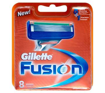 Gillette Fusion Blades - 6 Cartridges