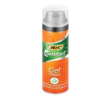 Bic Comforte Shaving  gel fresh 250 Ml UK