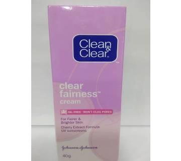 Clear & clear fairness cream