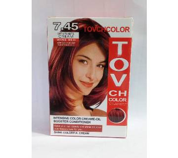 wine red hair colour 60 ml China