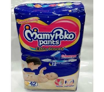 Mamypoko pants XL (4-8)kg -42pcs india