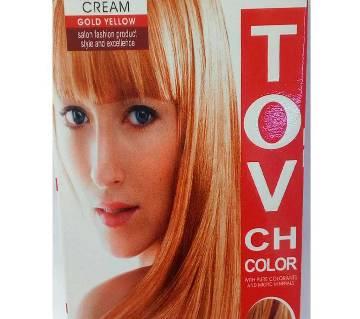 gold yellow hair colour 60 ml China