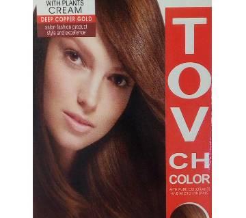 deep copper gold hair colour 60 ml China