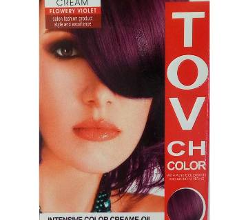 flowery violet hair colour 60 ml China