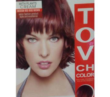 medium red irise Brown hair colour 60 ml China