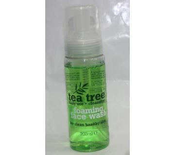 tea tree face wash UK 200ml