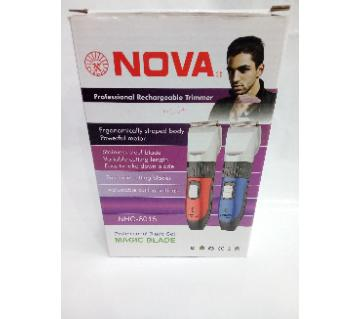 Nova professional rechargeable trimmer