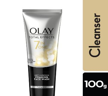 Olay Total Effects 7 In 1 Anti Aging Cream Cleanser Face Wash (Thailand)